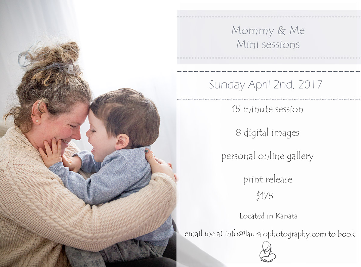 Mommy and me mini sessions